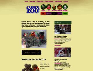 carolszoo.com screenshot