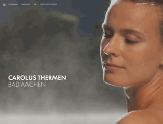 carolus-thermen.de screenshot