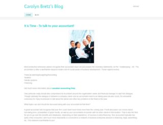 carolynbretz.weebly.com screenshot