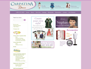 carpatina.com screenshot
