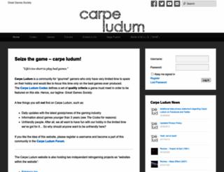 carpeludum.com screenshot