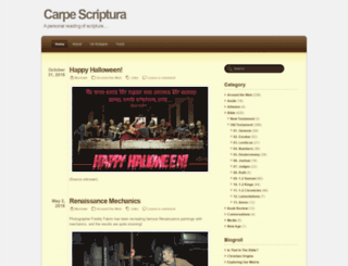carpescriptura.com screenshot