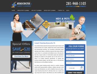 carpet-cleaning-atascocita.com screenshot