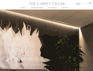 carpetcellar.com screenshot