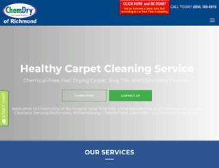 carpetcleaningrichmond.com screenshot