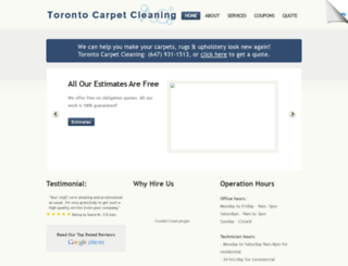 Access Carpetcleaningtoronto911 Com Carpet Cleaning