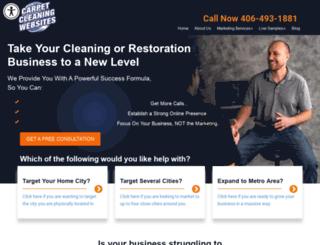 carpetcleaningwebsites.net screenshot