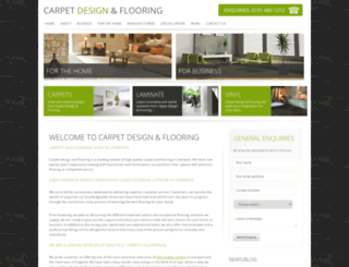 carpetdesignandflooring.co.uk screenshot