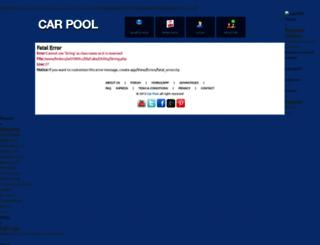 carpool.fabi.me screenshot