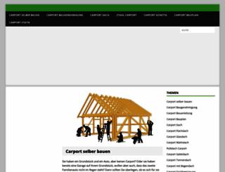 carport-selber-bauen.de screenshot