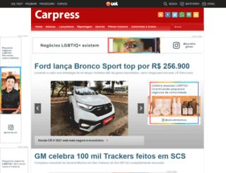 carpress.uol.com.br screenshot