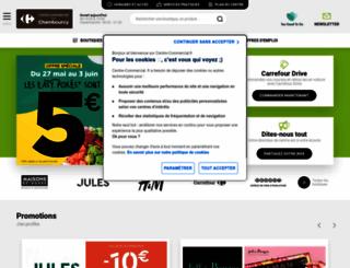 carrefour-chambourcy.fr screenshot
