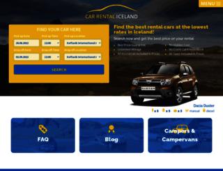 carrentaliceland.com screenshot