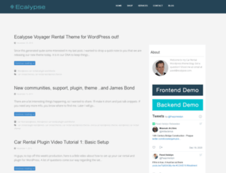 carrentalwordpresstheme.com screenshot