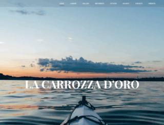 carrozzadoro.com screenshot