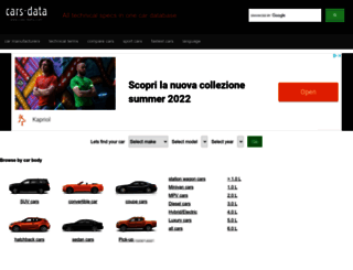 cars-data.com screenshot