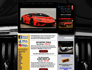 cars-on-line.com screenshot