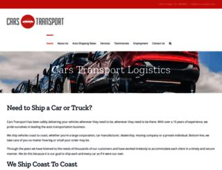 cars-transport.com screenshot