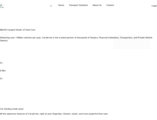 carsarrive.com screenshot