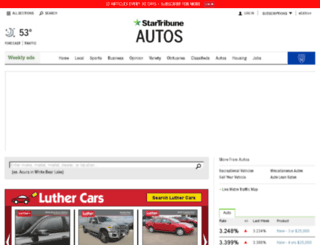 carsearch.startribune.com screenshot