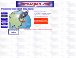 carsjapan.com screenshot