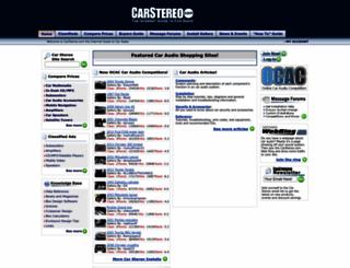 carstereo.com screenshot