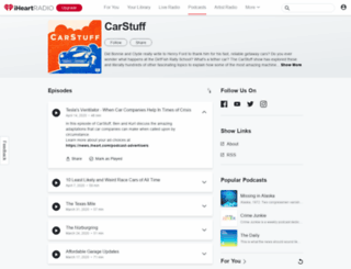 carstuffshow.com screenshot