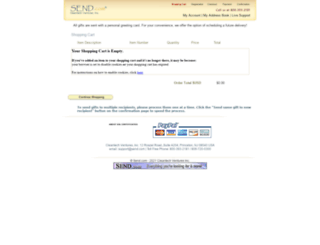 cart.send.com screenshot
