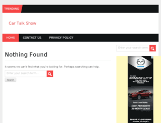 cartalkshows.com screenshot