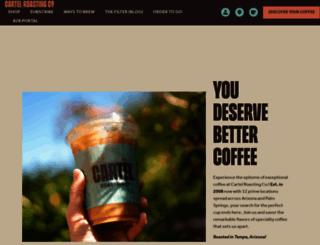 cartelcoffeelab.com screenshot