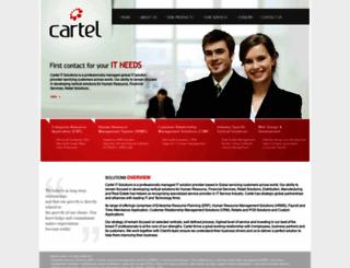 cartelsolutions.com screenshot