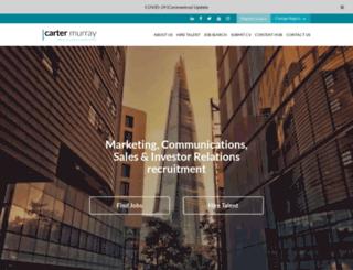 cartermurray.com screenshot
