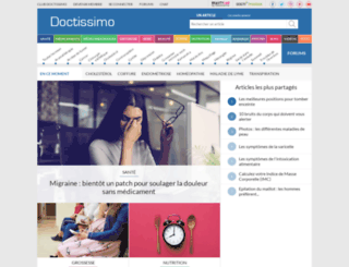 cartes.doctissimo.fr screenshot