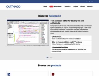 carthagosoft.net screenshot