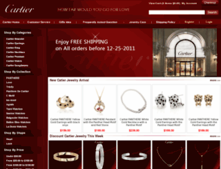 cartierjewelry.us screenshot