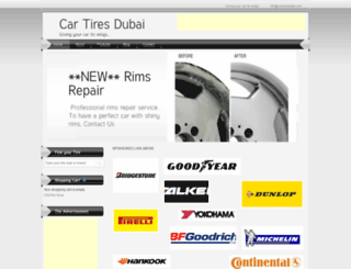 cartiresdubai.com screenshot