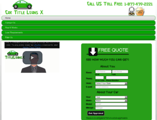 cartitleloansx.com screenshot
