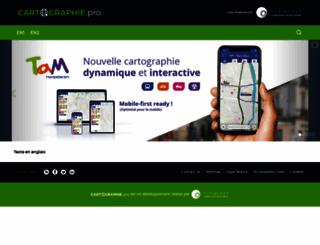 cartographie.pro screenshot