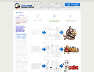 cartoonball.com screenshot