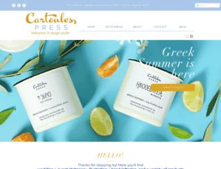 cartoulespress.com screenshot