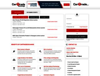 cartradeexchange.com screenshot