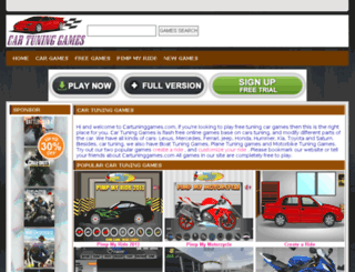 cartuninggames.com screenshot