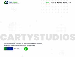 cartystudios.com screenshot