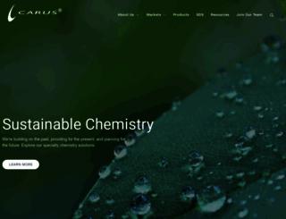 caruscorporation.com screenshot