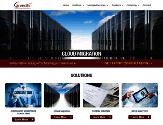 carvechitechnology.com screenshot