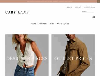 carylanesf.com screenshot