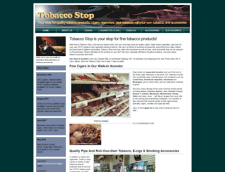 carytobaccostop.com screenshot