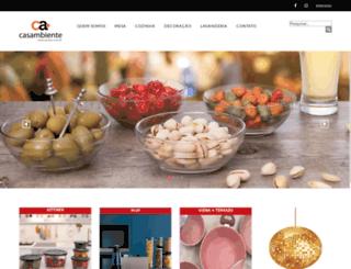 casaambienteud.com.br screenshot