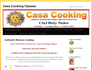 casacookingclasses.com screenshot