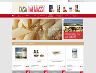 casadalmasso.com screenshot
